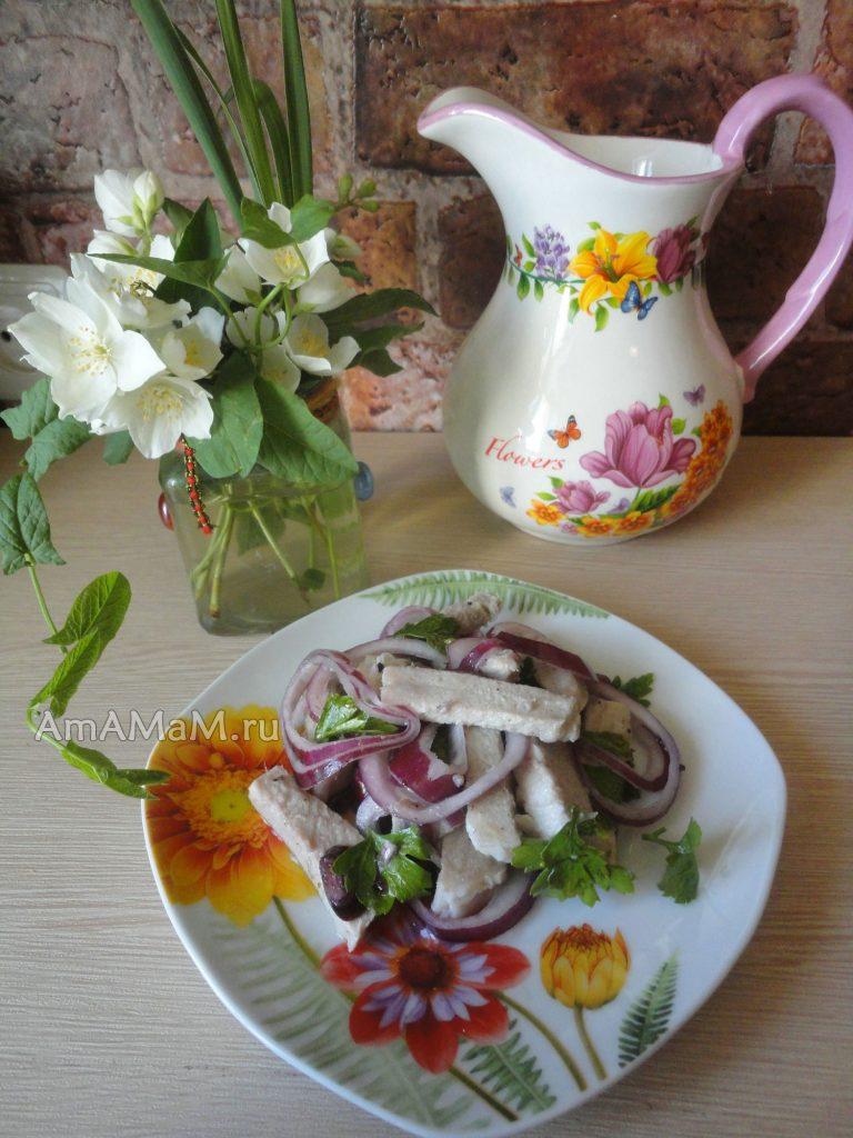 Состав и рецепт деревенского свадебного салата с пошаговыми фото