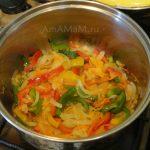 Как делают зека с овощами - приготовление овощной части блюда