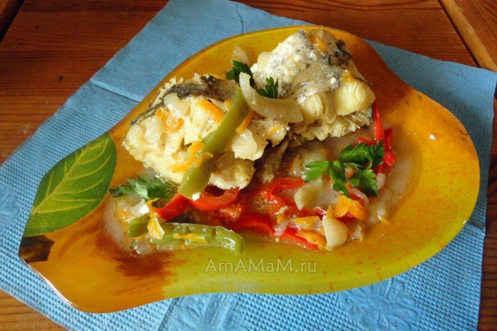 Фото блюда из тушеного хека