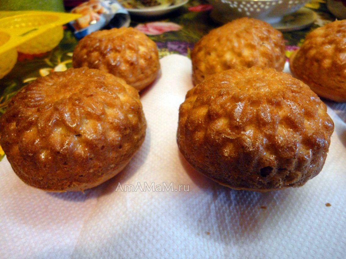 Как сделать кексы в формочках рецепт с изюмом