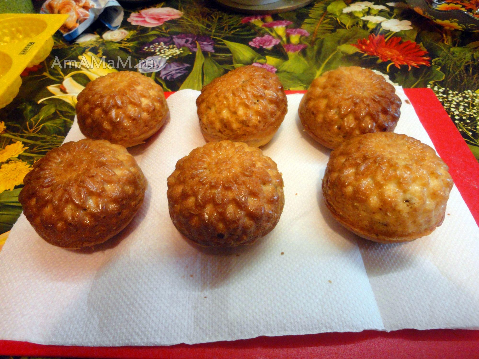Бисквитное тесто для кексов рецепт простой