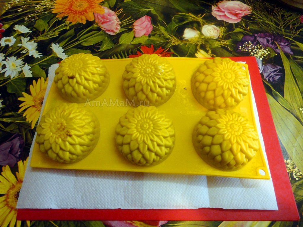 Столичные кексы - рецепт приготолвения