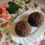Шоколадные кексы с изюмом и шоколадным сыром
