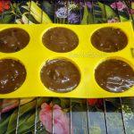 Шоколадные кексы с начинкой (плавленый шоколадный сыр)