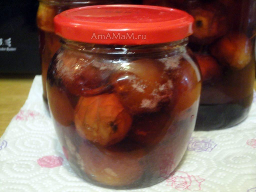 Способ приготовления варенья из китайских райских яблочек
