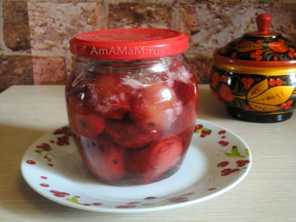 Заготовки из райских яблочек - рецепты и фото