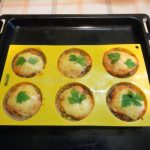 Фото котлет в формочках для кексов
