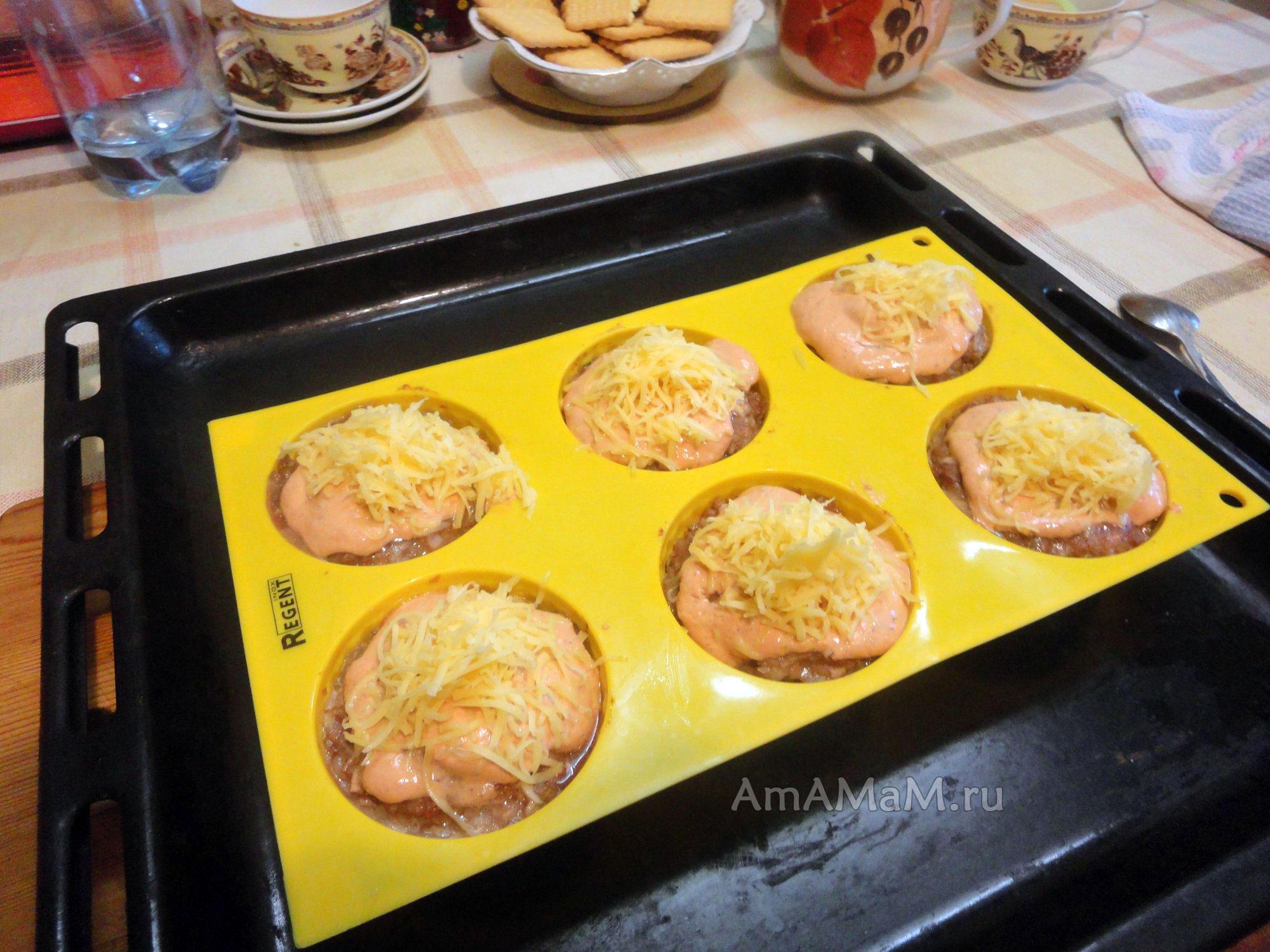 котлеты в фольге в духовке рецепт с фото