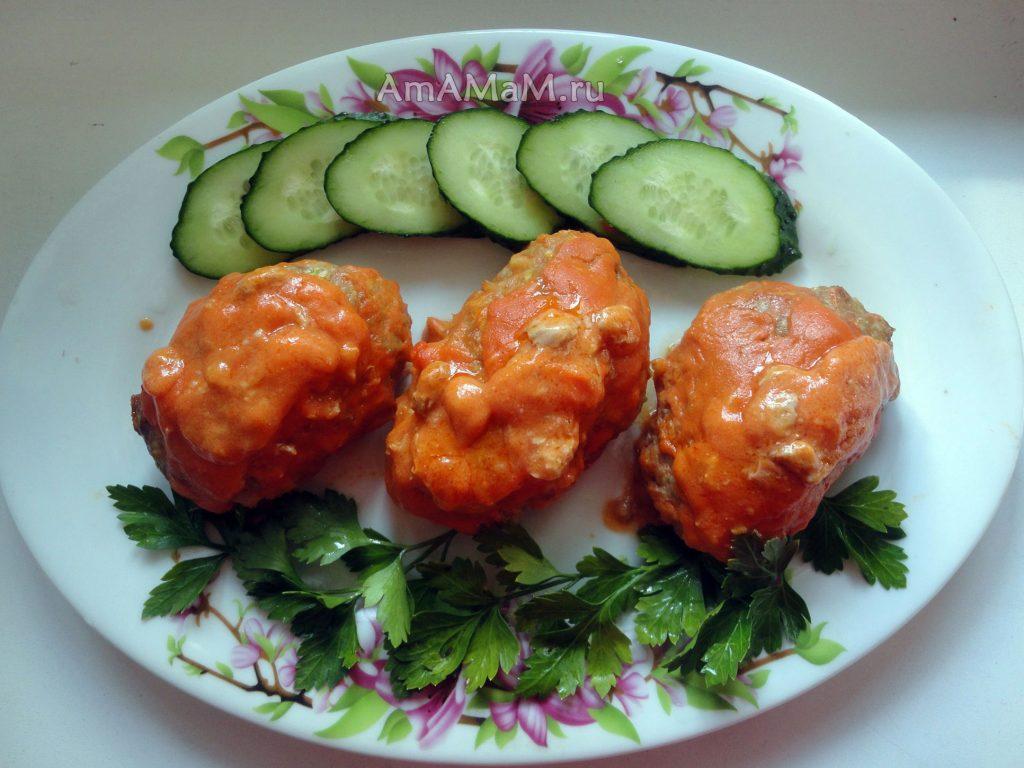 Простые рецепты обедов и ужинов - ленивые голубцы