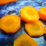 Морковь кружками - фото