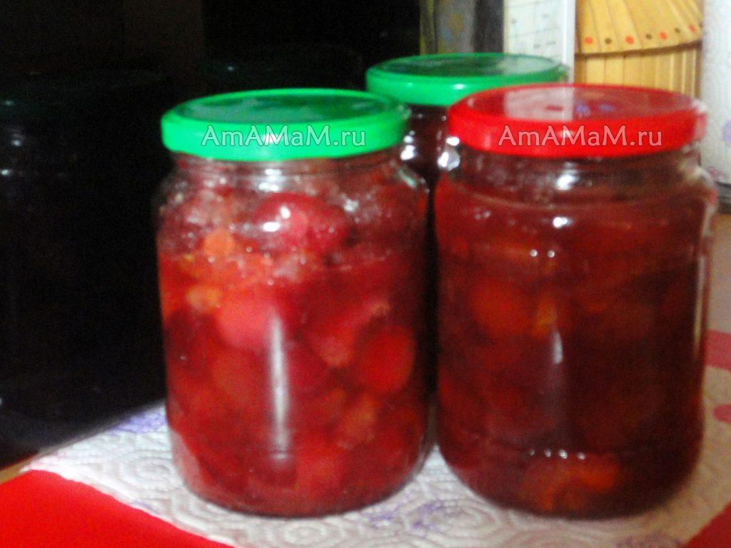 Рецепты яблочного варенья с апельсином (из китайских маленьких яблочек)