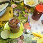Варенье из китайских маленьких яблок - заготовка