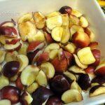 Фото китайских яблочек, нарезанных дольками