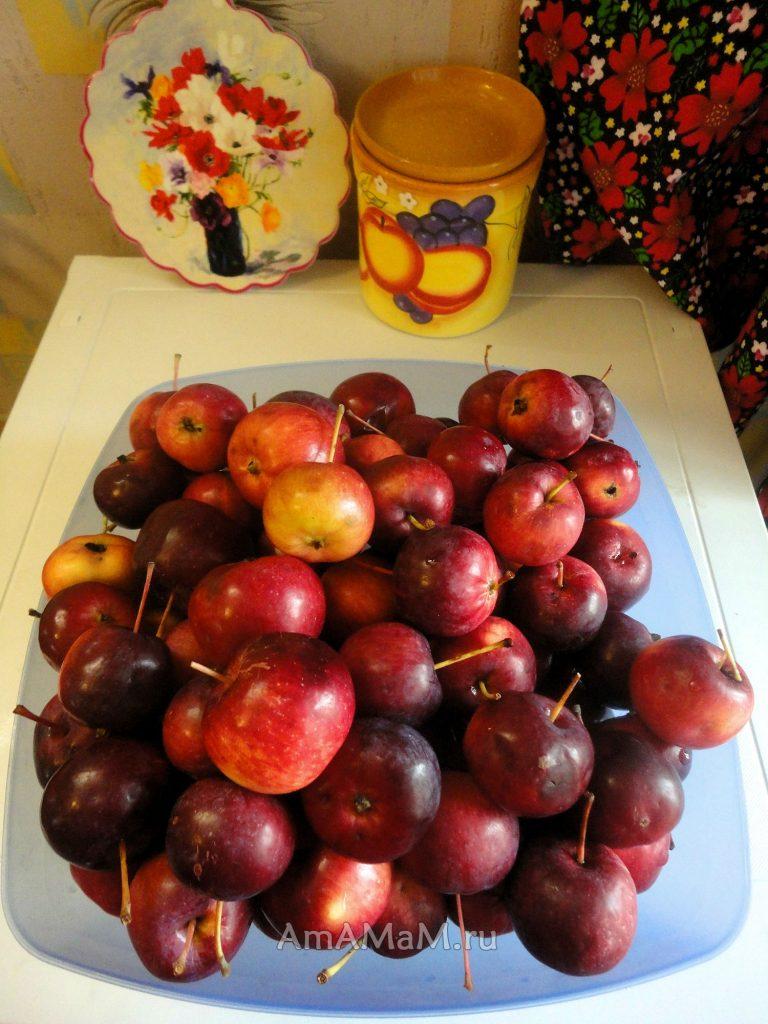 Райские яблочки - рецепты
