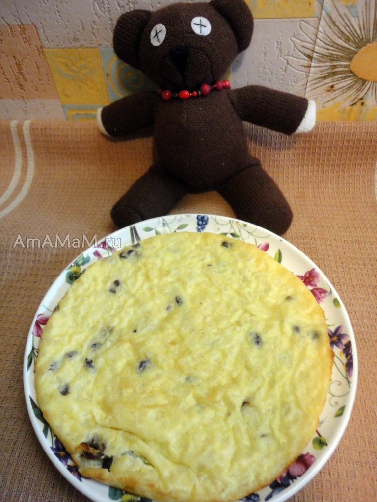 Приготовление пудинга для детей - рецепт из риса
