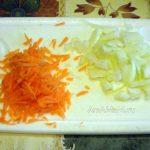Овощи для поджарки - заправки супа