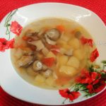 Супы с вешенками - рецепты