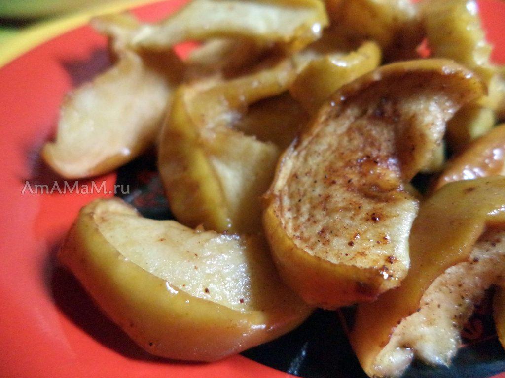 Заготовка из яблок - вяленые яблочные дольки