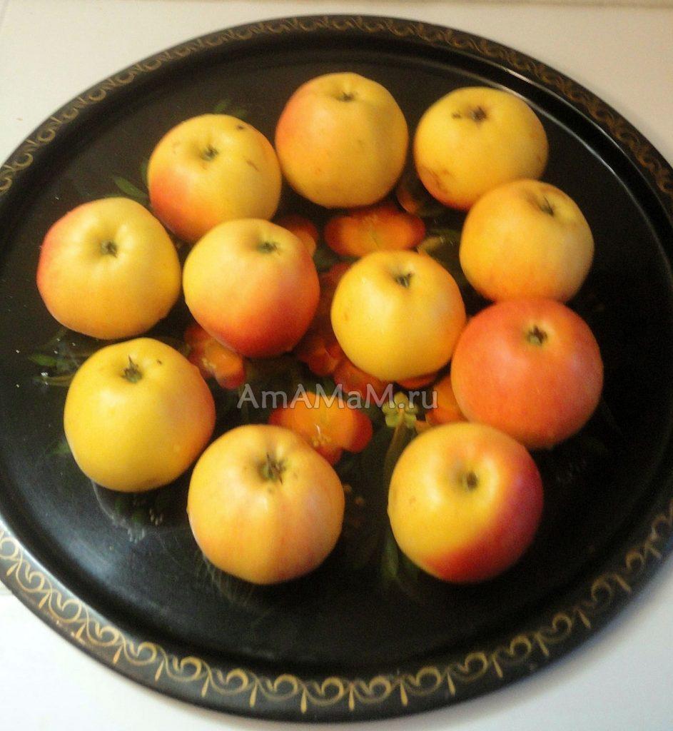 Оенние яблоки - вкусные и сочные