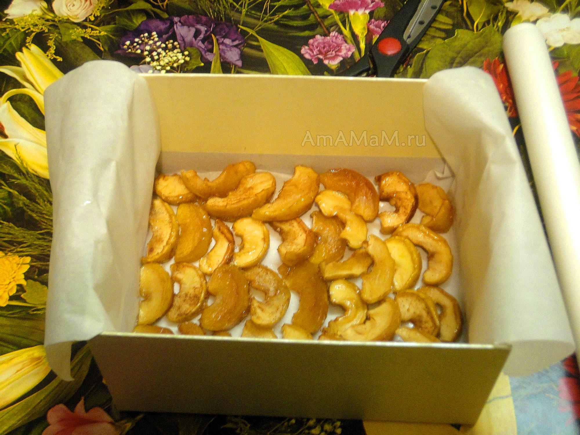 цукаты из яблок рецепт в духовке