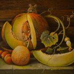 Осенник йрукты - дыня и персики
