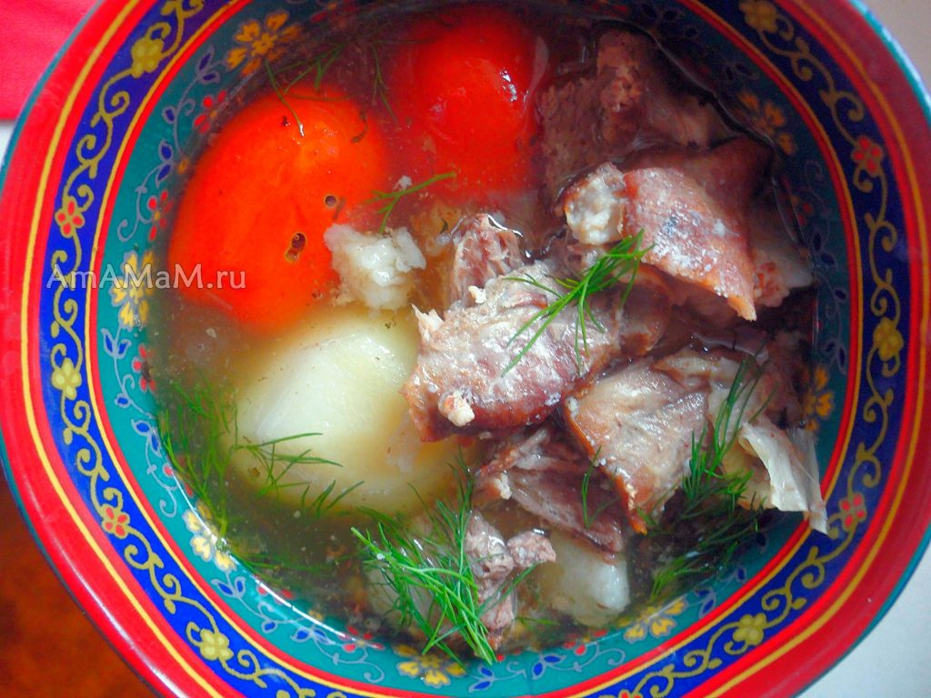 Вкусные блюда из баранины - рецепт бугламы