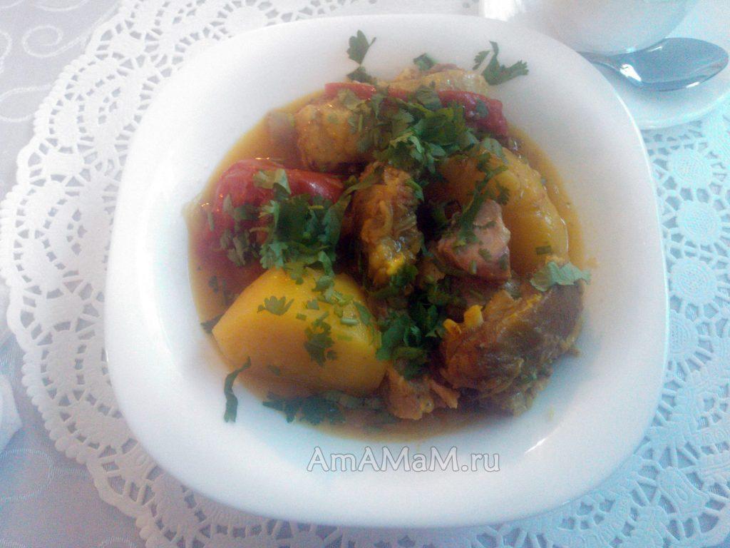 Буглама из баранины - рецепт