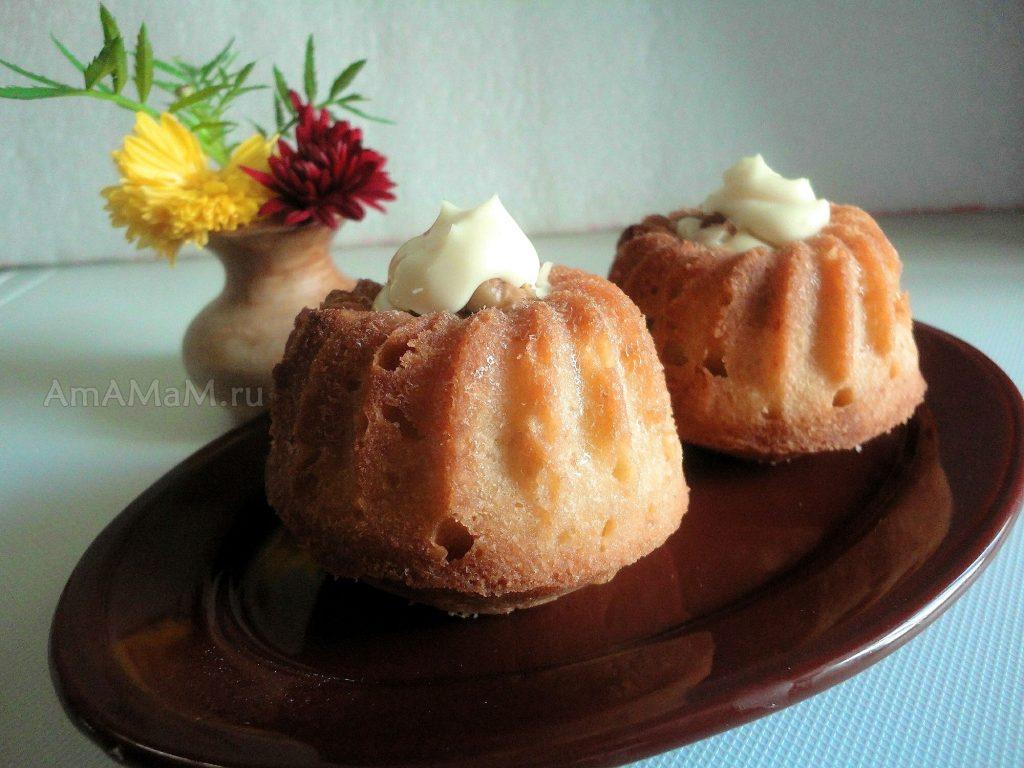 Рецепты вкусных кексов (по простому рецепту)