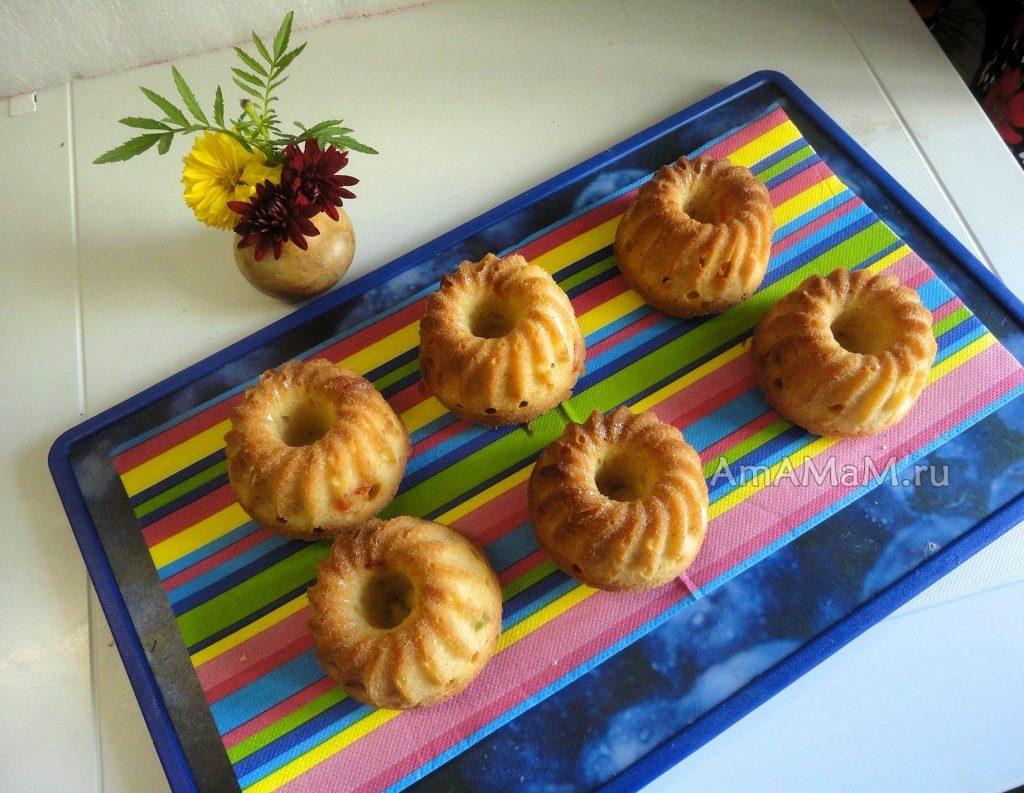 Кексы домашнего приготовления - фото и рецепт