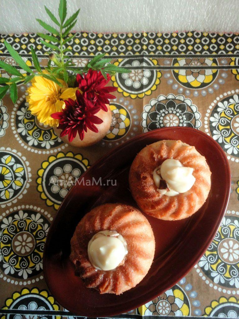Вкусные кексы из теста на сливочном масле (масляный бисквит)