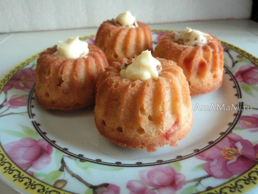 Простой рецепт для кексов в формочках