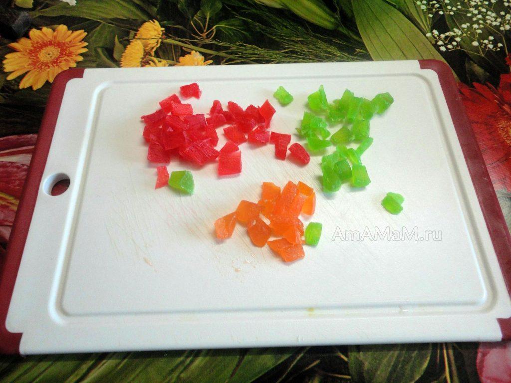 Цукаты папайи - фото