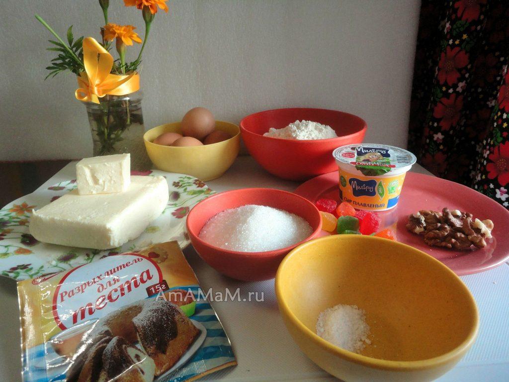 Состав и рецетп простых кексов в силиконовых формочках