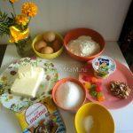 Как сделать простые домашние кексы - ингредиенты