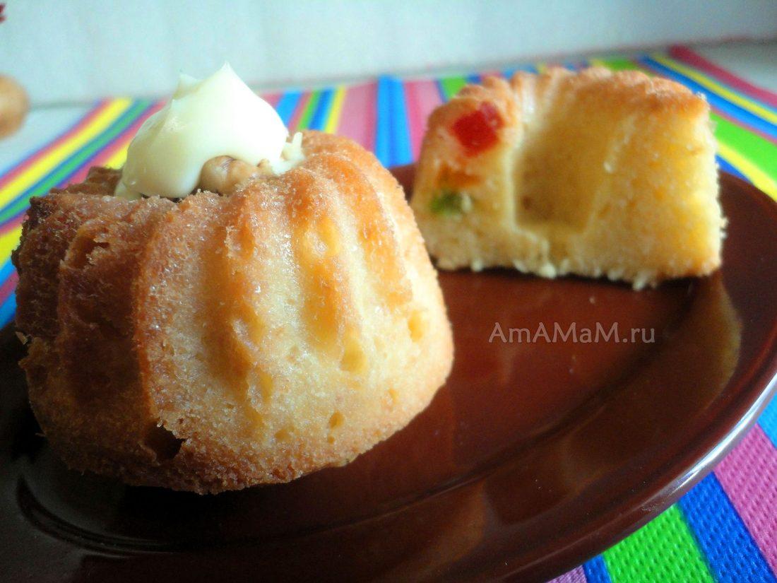Рецепты с фото кексов с начинкой