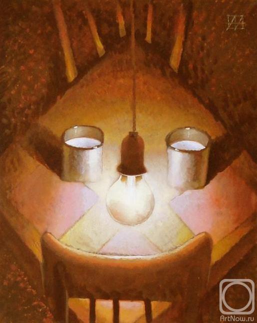 Ночные посиделки домовых под кружечку козьего молока