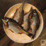 Рыбный натюрморт с красноперкой