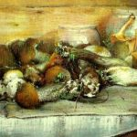 Грибная добыча - лисички и поддосиновики и подберезовики