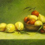 Лимоны с мандаринами - натюрморт
