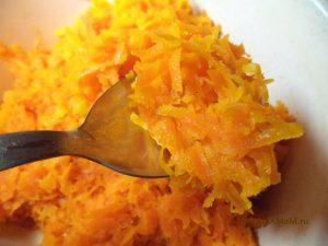 Вкусная морковная начинка для выпечки - рецепт с фото