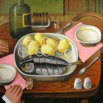 Еда в картинах художника Андрея Андрианова
