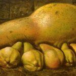 Большая тыква с тыковками (или грушами?)