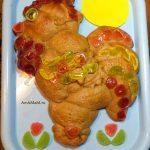 Пироги и пирожки в виде петуха