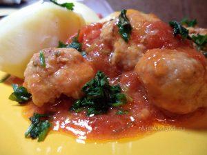 Рецепт тефтелек в томатном соусе