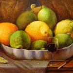 Фруктовый натюрморт (лимоны)