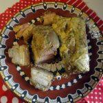 Рецепт домашнего сала в духовке -пошагово