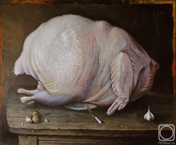 Из чего готовят сациви - курица, грецкие орехи и чеснок