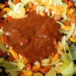 Способ приготовления поджарки для супа из баранины с нутом