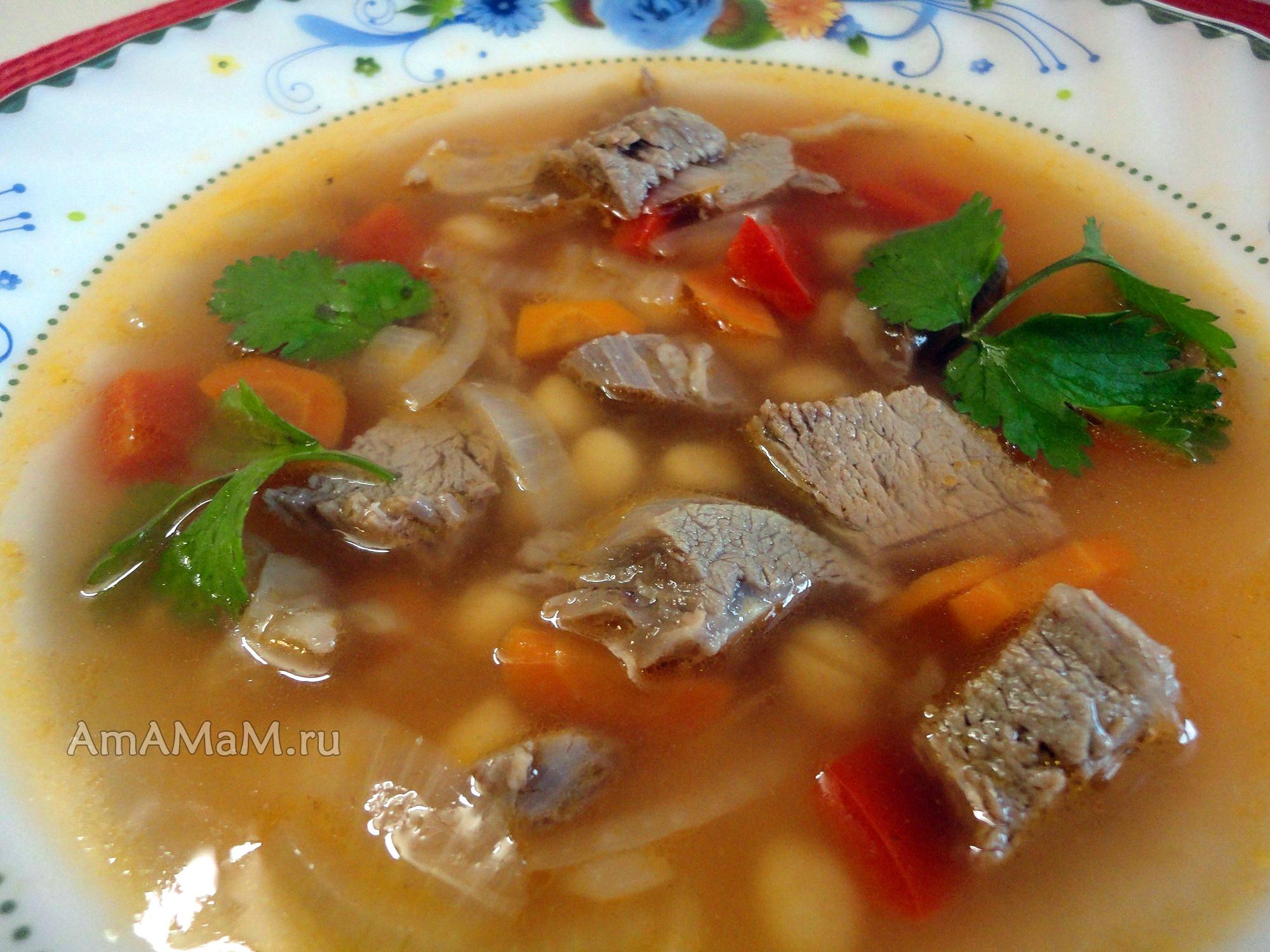 Суп из баранины пошаговый фото рецепт