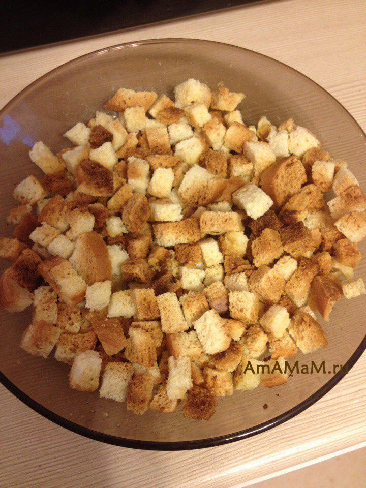 Как сделать сухари в микроволновке из белого хлеба 147